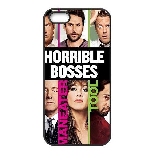 Horrible Bosses 2 1 coque iPhone 4 4S cellulaire cas coque de téléphone cas téléphone cellulaire noir couvercle EEEXLKNBC25793