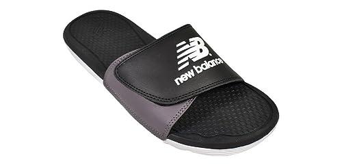 f619d37bbf47 New Balance Men s NB Pro Adjustable Slide Sandals Black Man Made Sandals 8