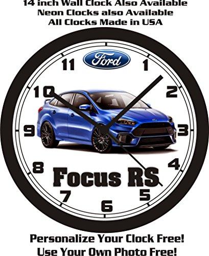 2016 FORD FOCUS RS SEDAN WALL CLOCK-FREE USA - Lincoln Rs