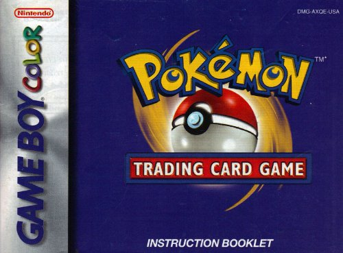 pokemon trading card game instruction booklet - 1