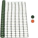 Woodside 1m x 25m Green Plastic Barrier Safety Pet Event Mesh Fence Netting Net