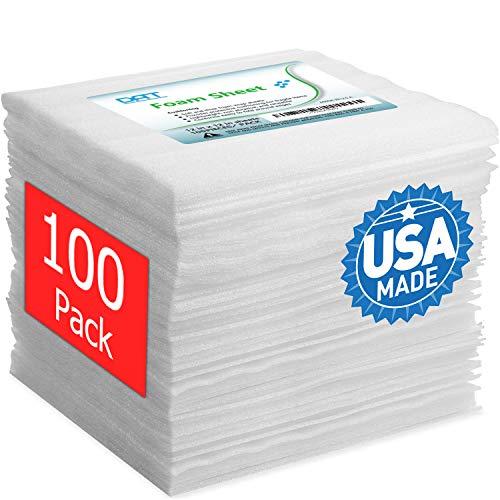 """100 Pack Foam Sheets, DAT 12"""" x"""