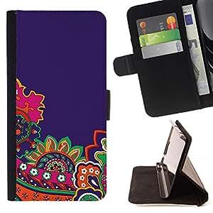 For LG Nexus 5 D820 D821 Case , Bricolaje Oro Papel Rosa Marrón- la tarjeta de Crédito Slots PU Funda de cuero Monedero caso cubierta de piel