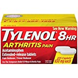 Tylenol 8 HR Arthritis Pain Extended Release Caplets, 650 Mg - Special 3 Pack ( 675 Count Total )