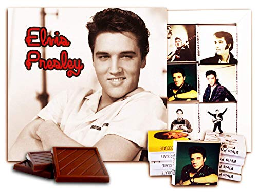 DA CHOCOLATE Candy Souvenir ELVIS PRESLEY Chocolate Set 5x5