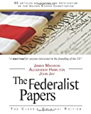 Book cover for The Federalist Papers
