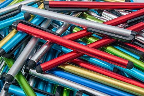 100pcs Smart Phone/Smart Tablet Multi Color Colorful Bulk Stylus