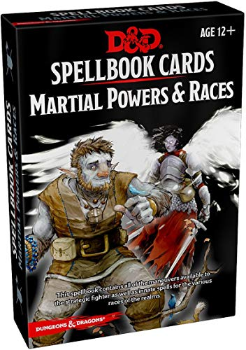 Spellbook Cards: Martial (Dungeons & Dragons) (Dungeons Dragons Beginner)
