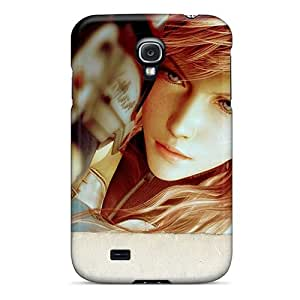 Protective Tpu Case With Fashion Design For Galaxy S4 (ffxiii Lightening)