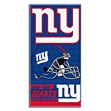 NFL New York Giants Double Covered Beach Towel, 28 x 58-Inch