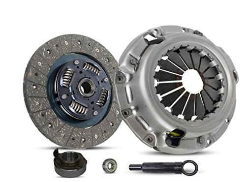 Clutch Kit Works With Ford Probe Mazda 626 Mx-3 Mx-6 B2000 SE-5 Base Gs Se Gl Dx Lx 4WD 1983-1993 1.8L V6 GAS DOHC 2.0L l4 2.2L l4 GAS SOHC Naturally Aspirated