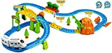 Saffire Kids Big Train with Flyover with Intelligent Sensing and Dialog with Light Effects, Multi Color