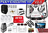 DJI Phantom 4 ADV + Plus Executive Kit V2.0 w/ Nanuk 950 Wheeled Case, 3 Batteries, Thor Charger, CF Props & Guards, Filters, 64GB Card & More