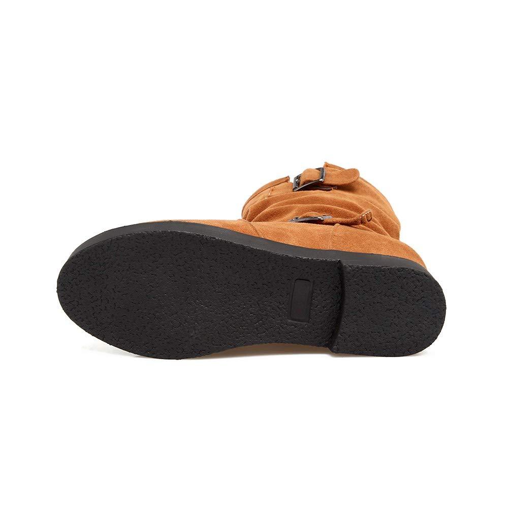 Toamen Mujeres Retro cálidas Botas de Tobillo Martin,Zapatos Redondos del Dedo del pie: Amazon.es: Ropa y accesorios