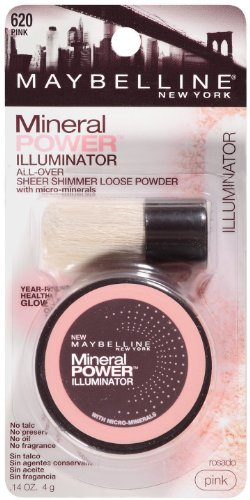 Maybelline New York Mineral Power Illuminator, Pink 620 (2 pack)