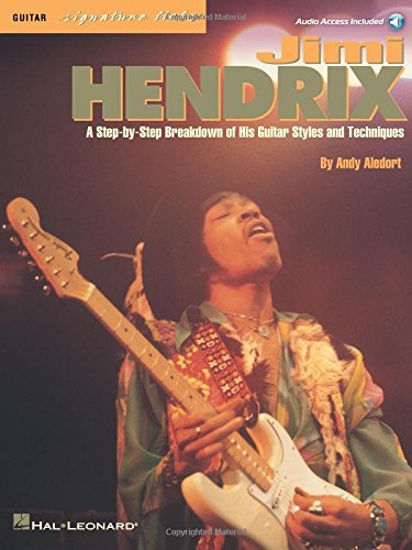 Jimi Hendrix, Guitar Signature Licks: A Step-by-Step Breakdown of His Guitar Styles and Techniques (Book & CD) - Guitar With Wings
