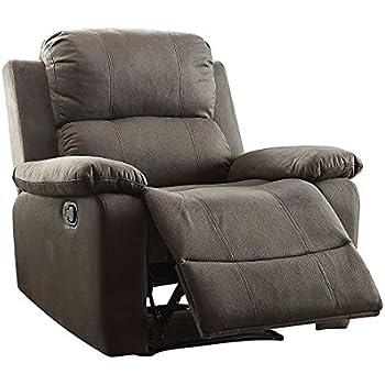 Major-Q Washed Microfiber Fully Reclining Memory Foam Recliner Chair for Living Room  sc 1 st  Amazon.com & Amazon.com: ACME Arcadia Chocolate Microfiber Recliner: Kitchen ... islam-shia.org
