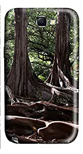 Samsung Note 2 Case Moreton Bay Fig Trees On Kauai Hawaii 3D Custom Samsung Note 2 Case Cover