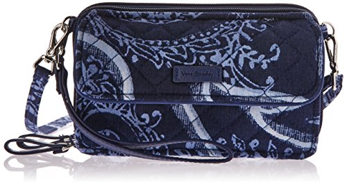 Vera Bradley Iconic RFID All in One Crossbody, Signature Cotton, Indio, Indio, One Size