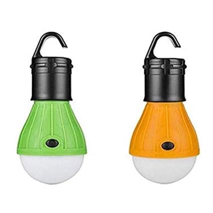 Mini AAA Battery Powered LED Camping Tent Lamp Hiking Fishing Lantern Flashlight