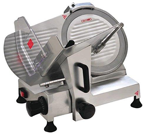 Italinox 10 inch - 250mm Blade Commercial Meat Slicer.