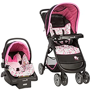 Disney-Baby-Minnie-Mouse-Amble-Quad-Travel-System-Stroller-with-Onboard-22-LT-Infant-Car-Seat-Garden-Delight
