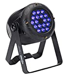ElektraLite eyeBall UV | 18x3W Ultraviolet 385nm LED Black Body ELE725