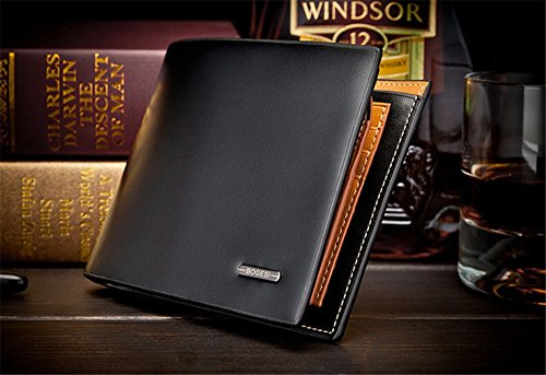 Money coming shop Luxury Brand Wallet Bag Soft Genuine Men Wallets Fashion Fold Clutch Wallet Coin Purse Removable Wallet Credit Card Holder (Amazon Credit Card Account)
