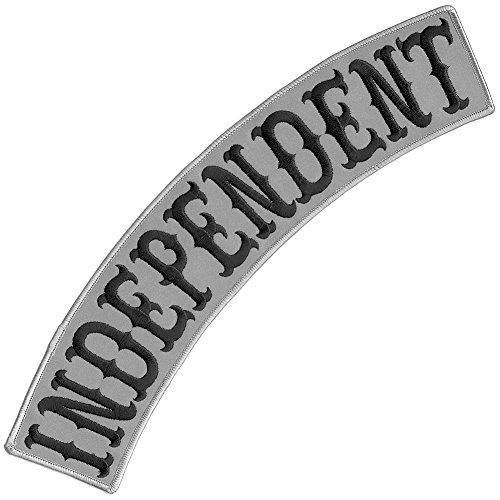 VEGASBEE Independent Reflective Patch Embroidered TOP Rocker Biker Jacket Vest Size XL 13