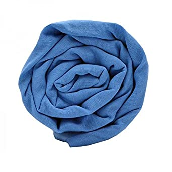 Ooballe Men's UnStitched Casual Cotton Dark Sky Blue Turban