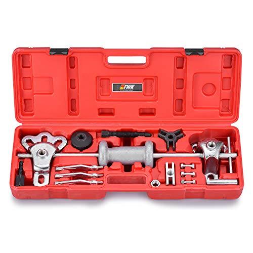 (EWK 9 Way Slide Hammer Axle Puller Rear Wheel Bearing Hub Adapter Set)