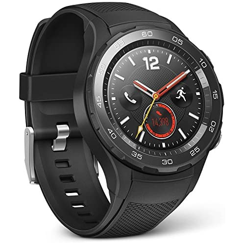 HUAWEI 55021666 Smartwatch 2 4G LTE 4 GB ROM Android Wear Bluetooth WiFi Carbon Negro Sport Strap