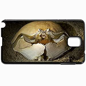 Customized Cellphone Case Back Cover For Samsung Galaxy Note 3, Protective Hardshell Case Personalized Crab Black