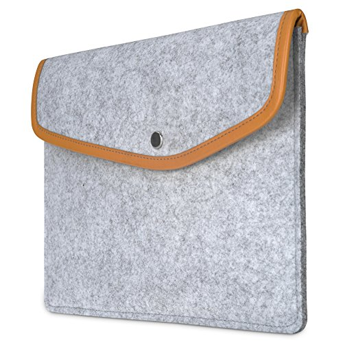 dodocool Tablet Felt Sleeve 9.7 Inch Envelope Cover Carrying Case for Apple iPad Pro/iPad Air 2/1 and More