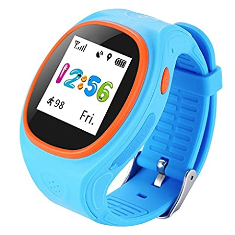 Kids Smart Watch With SIM Card Slot GPS Tracking Phone Voice Phone SOS Long Standby for Boys And Girls 1.22