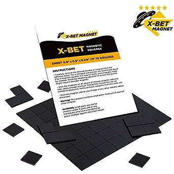 Amazon.com: Magnéticos cuadrados – 1 cinta magnética ...