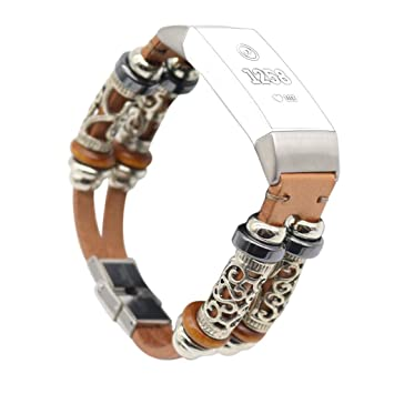 Amazon com : JDgoods For Fitbit Charge 3 Band Retro, Replacement