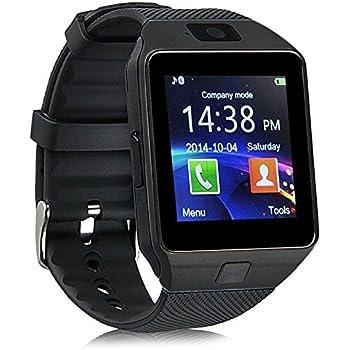 Amazon.com: LtrottedJ 2018 Bluetooth Smart Watch Phone Mate ...