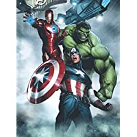 Edge Home Products Avengers Canvas with LED Lights, 12 by...