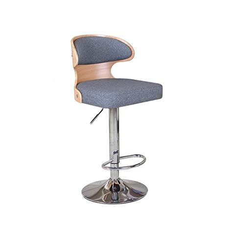 Brilliant Amazon Com Lgq Jju Linen Gas Adjustable Swivel Bar Stools Inzonedesignstudio Interior Chair Design Inzonedesignstudiocom