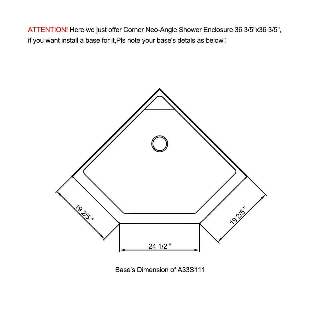 Corner Shower Stall Dimensions - Mobroi.com