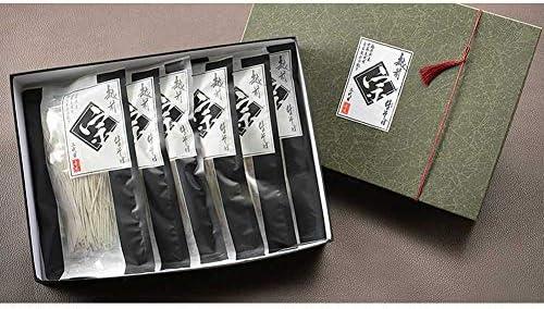 宗近 生粋三代粗挽きそば 貼箱入り 6人前つゆ付(MKM6)