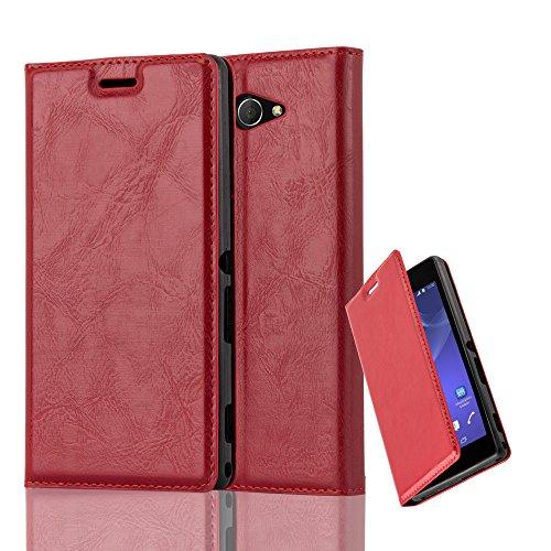 Cadorabo - Funda Book Style Cuero Sintético en Diseño Libro para >                          Sony Xperia M2                          <