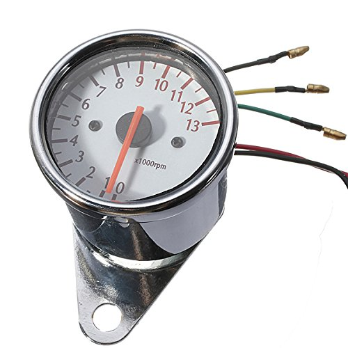 Iztor Universal Mechanica 13000RPM Tachometer Gauge for sale  Delivered anywhere in Canada