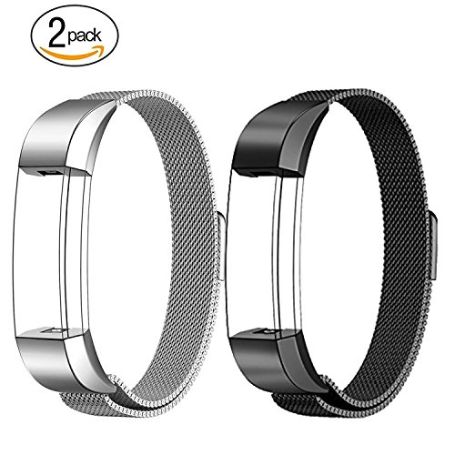 Fitbit-Alta-HR-and-Alta-Bands-Metal-Swees-Milanese-Stainless-Steel-Replacement-Accessories-Metal-Small-Large-Band-for-Fitbit-Alta-HR-and-Alta-Silver-Gold-Blue-Black-Rose-Gold-Colorful-Grey