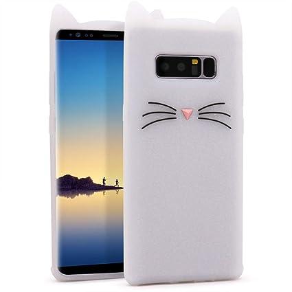 Amazon.com: Samsung Galaxy Note 8 Silicone/TPU/Prism Case ...