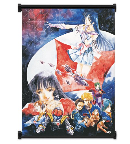 Macross Anime Fabric Wall Scroll Poster  Inches. -Macross-10
