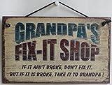 napa auto parts signs - 5X8 FIX-IT SHOP Sign Saying,