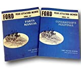 Ford Series 501 Rear Attached Mower Operators Owners Parts Manual Set Bar Sickle