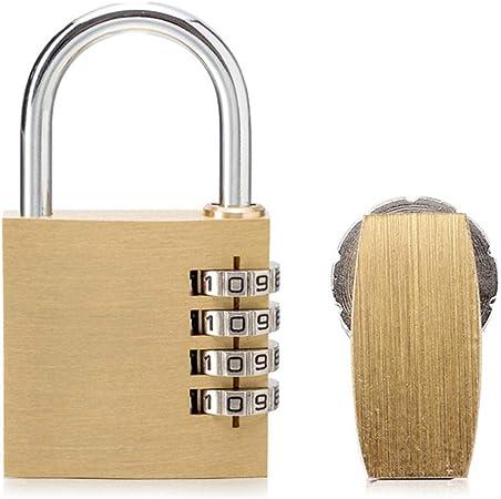 4 Digit Number Password lock Gym Padlock